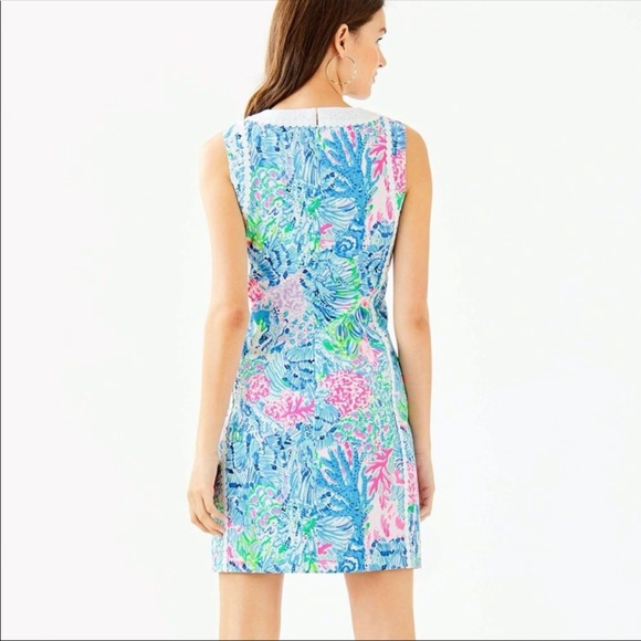 Lilly Pulitzer Dresses & Skirts - Lilly Pulitzer Mila Stretch Shift Dress size 2